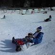 初スキー場