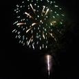 野尻湖の花火大会